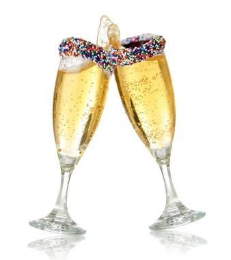 Новогодний коктейль Шампанское