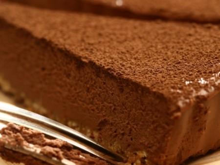Чизкейк с коньяком и шоколадом