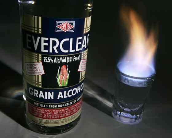 История ликера Everclear