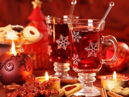 Три алкогольных новогодних пунша