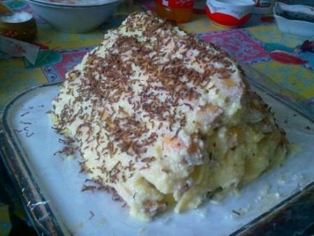 Оригинальный торт с коньячной пропиткой