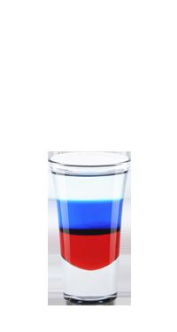 Коктейль Флаг России