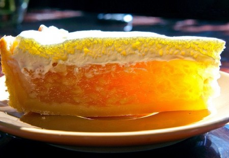 Нежный яблочный тарт с кальвадосом