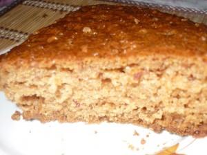 Пирог к чаю с инжиром и орехами