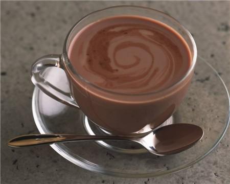 горячий шоколад с коньяком