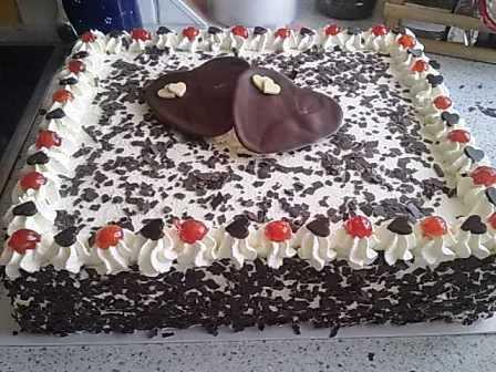 Вишневый торт с киршвассером