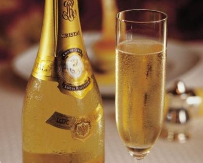 История шампанского Луи Родерер Кристалл