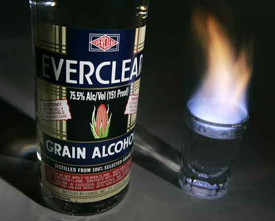 История ликера Everclear