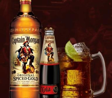 История Captain Morgan