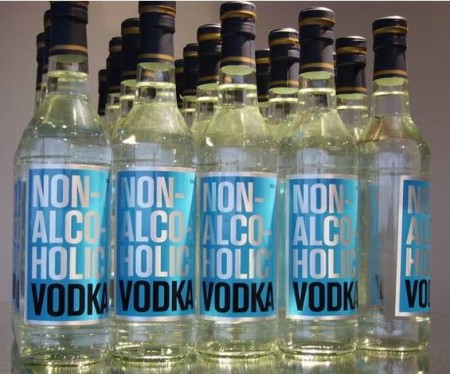 История безалкогольной водки